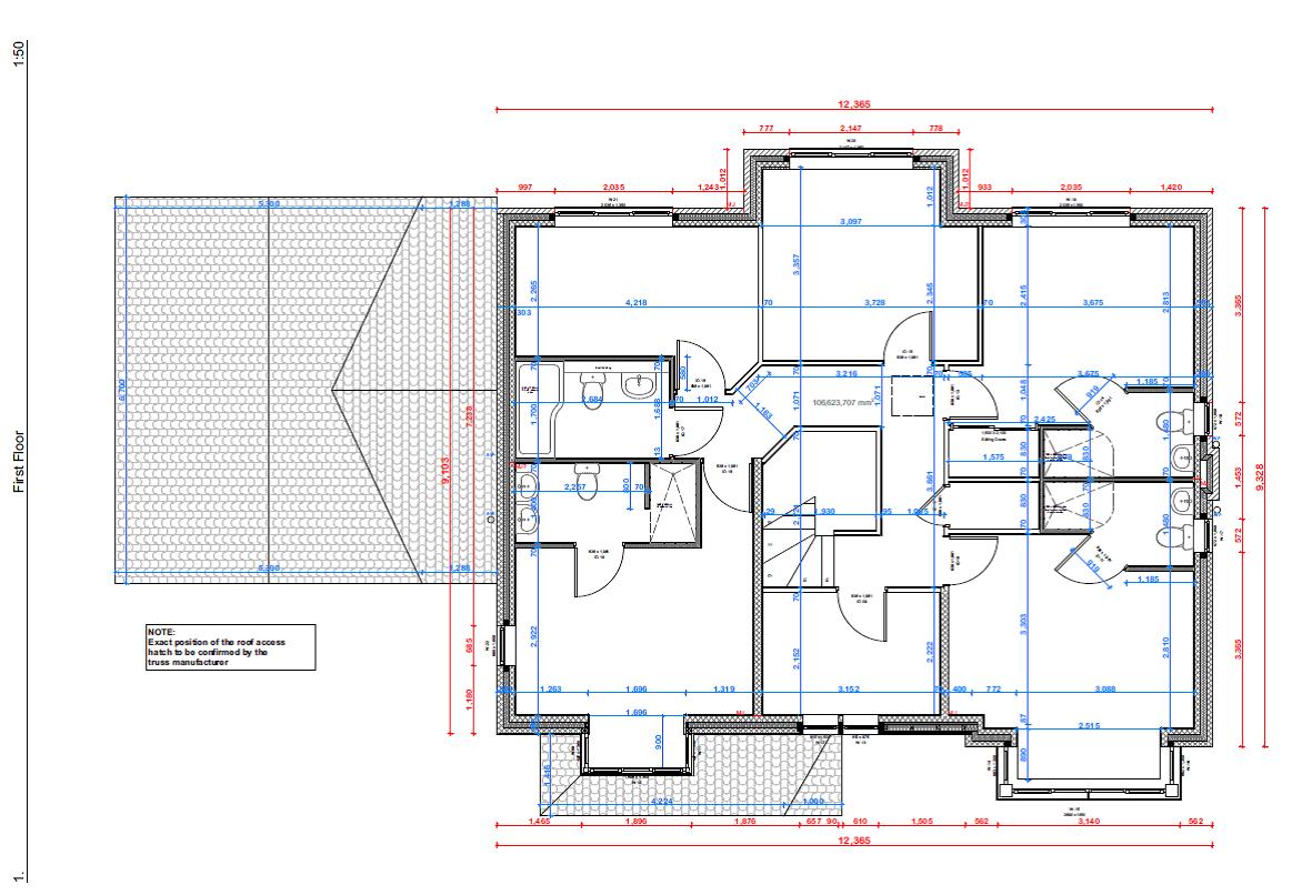 Serpentine Plot 1 & 2 FF plan