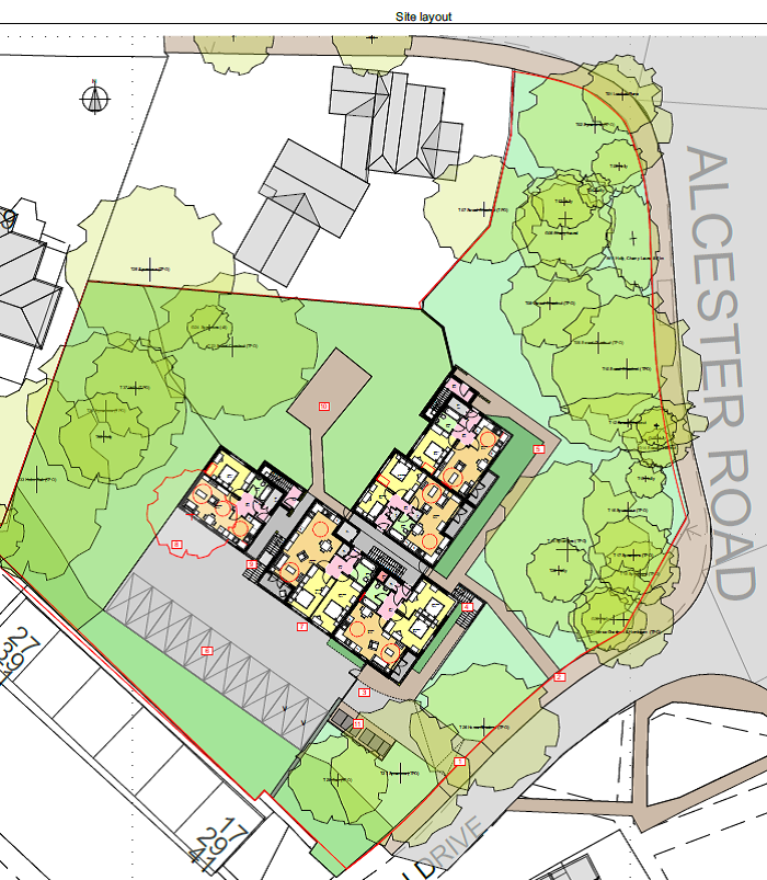 woodnorton site layout
